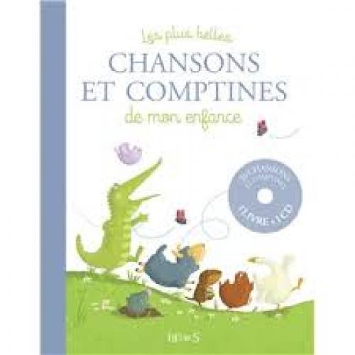 1 livre-CD comptines françaises