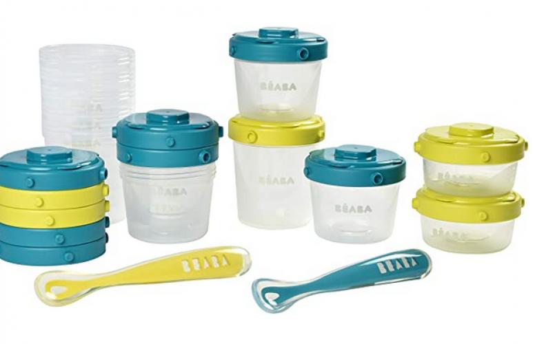 Lot de pot conservation pour BabyCook / Set of tuperwear for baby food