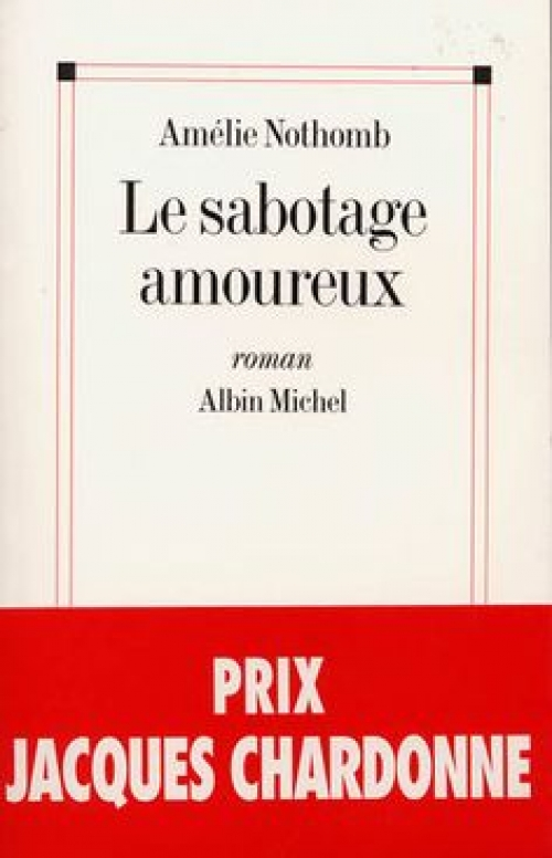 Romans d'Amélie Nothomb