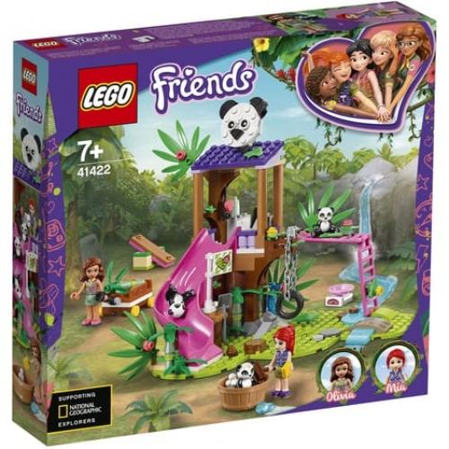 Lego friends cabane des pandas