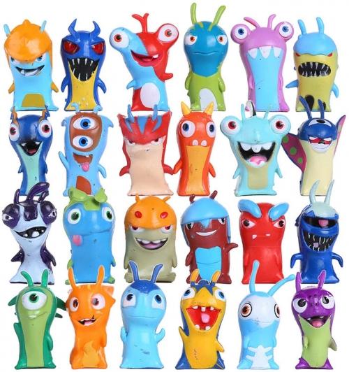 Figurines Slugterra 24 pièces