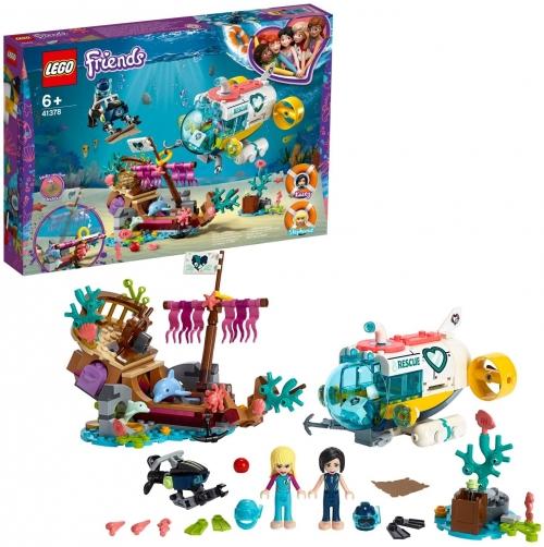 Lego friends sauvetage dauphins