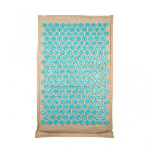 Tapis de fleurs en fibre naturel de coco