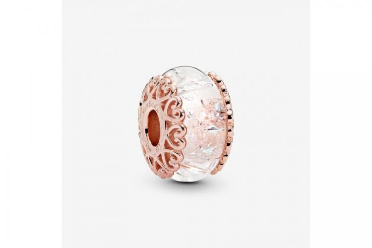 Charm Verre de Murano Iridescent