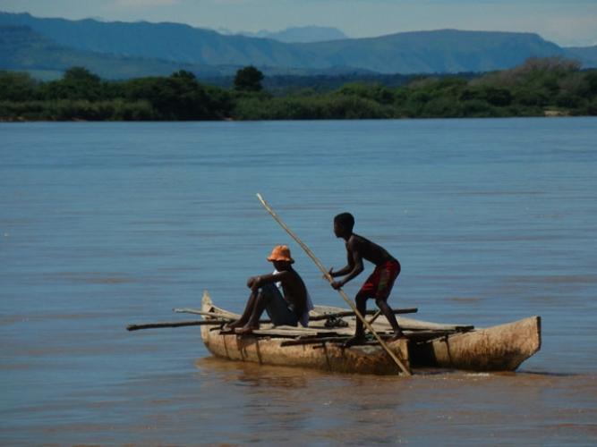 Descente de la rivière Mangoky