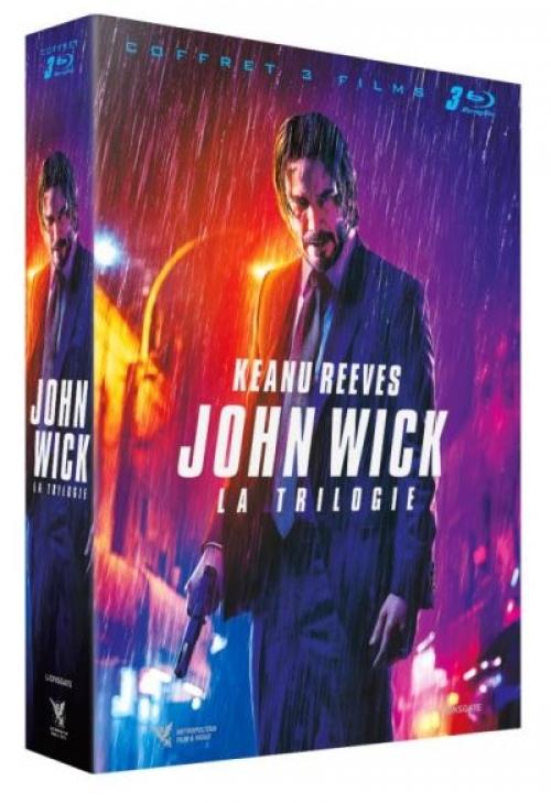 Coffret John Wick La Trilogie Blu-ray